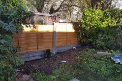 Mountstevens fence replacement after