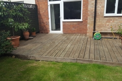 Mountstevens Cleaning and painting decking