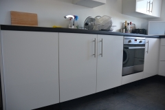 Kitchen replacement units completed