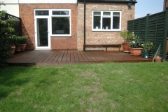Mountstevens Cleaned and painted decking